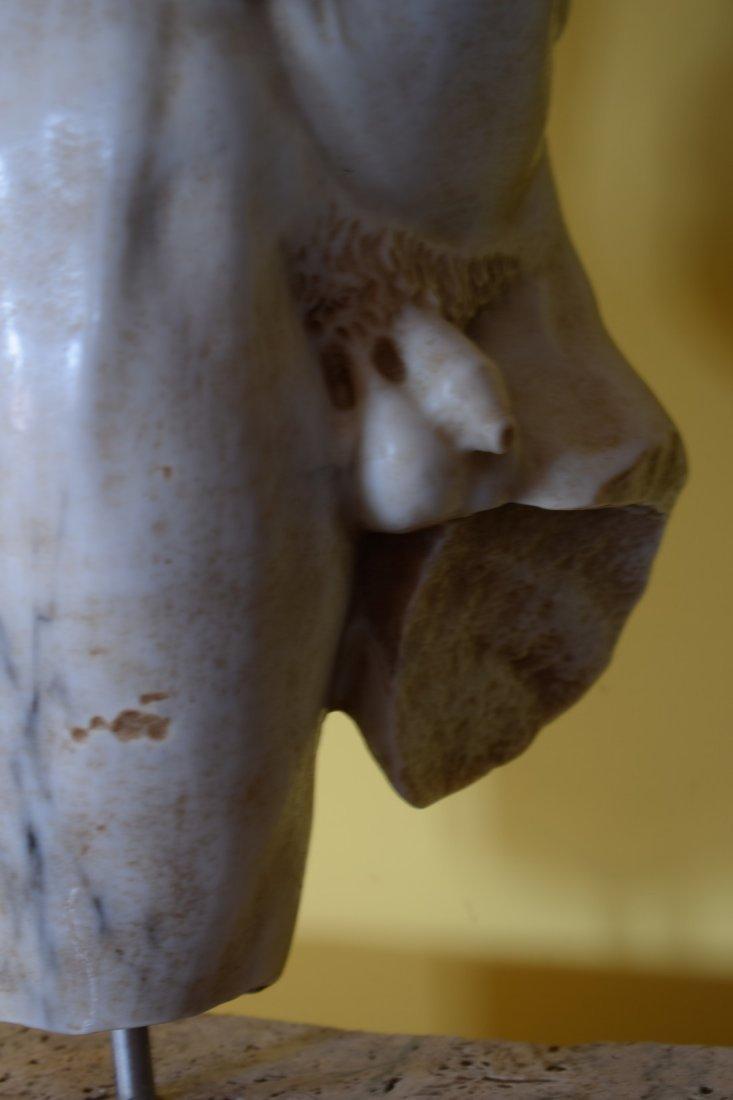 Torso in marble - 6