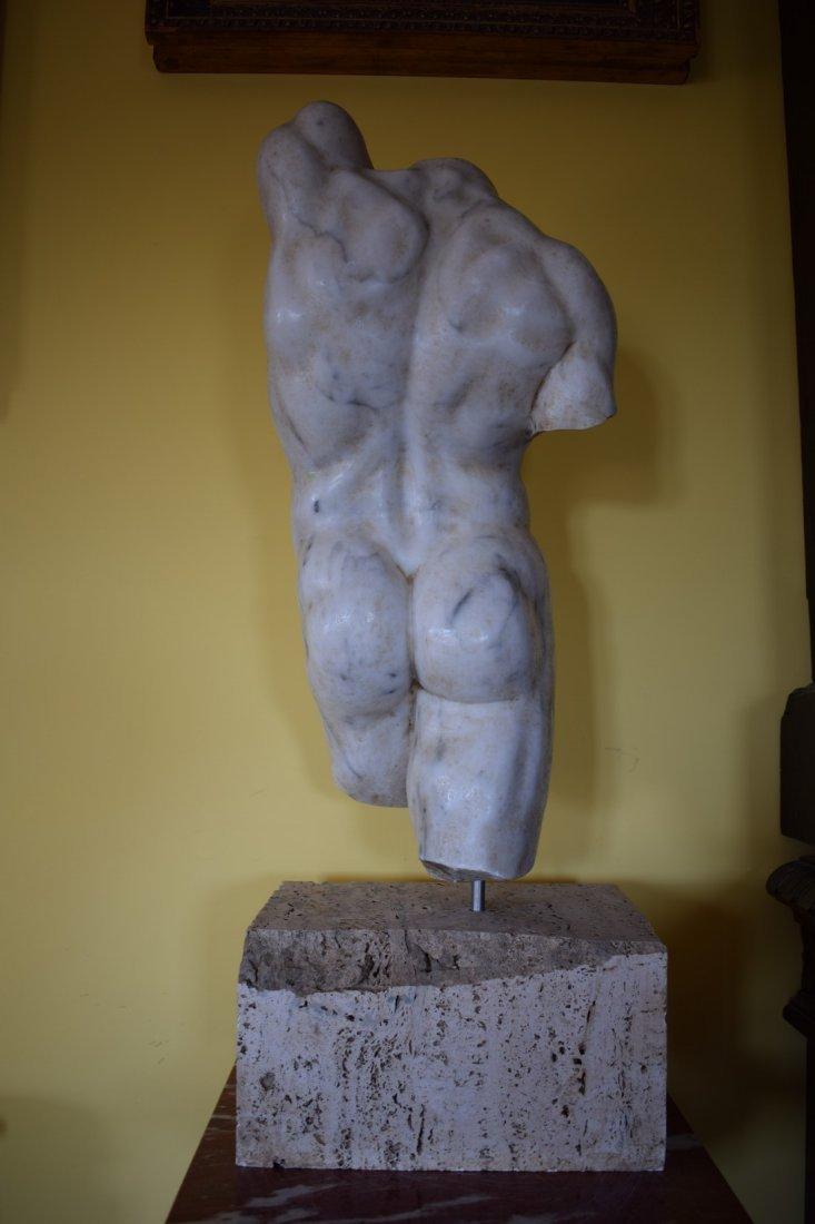 Torso in marble - 7
