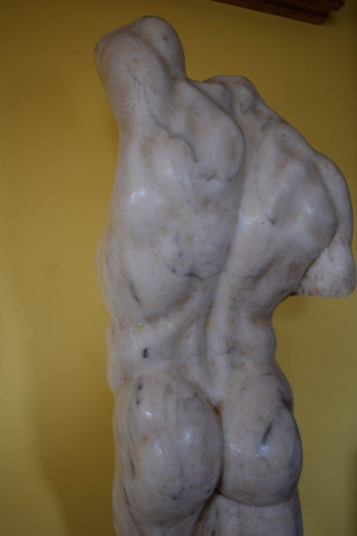 Torso in marble - 8