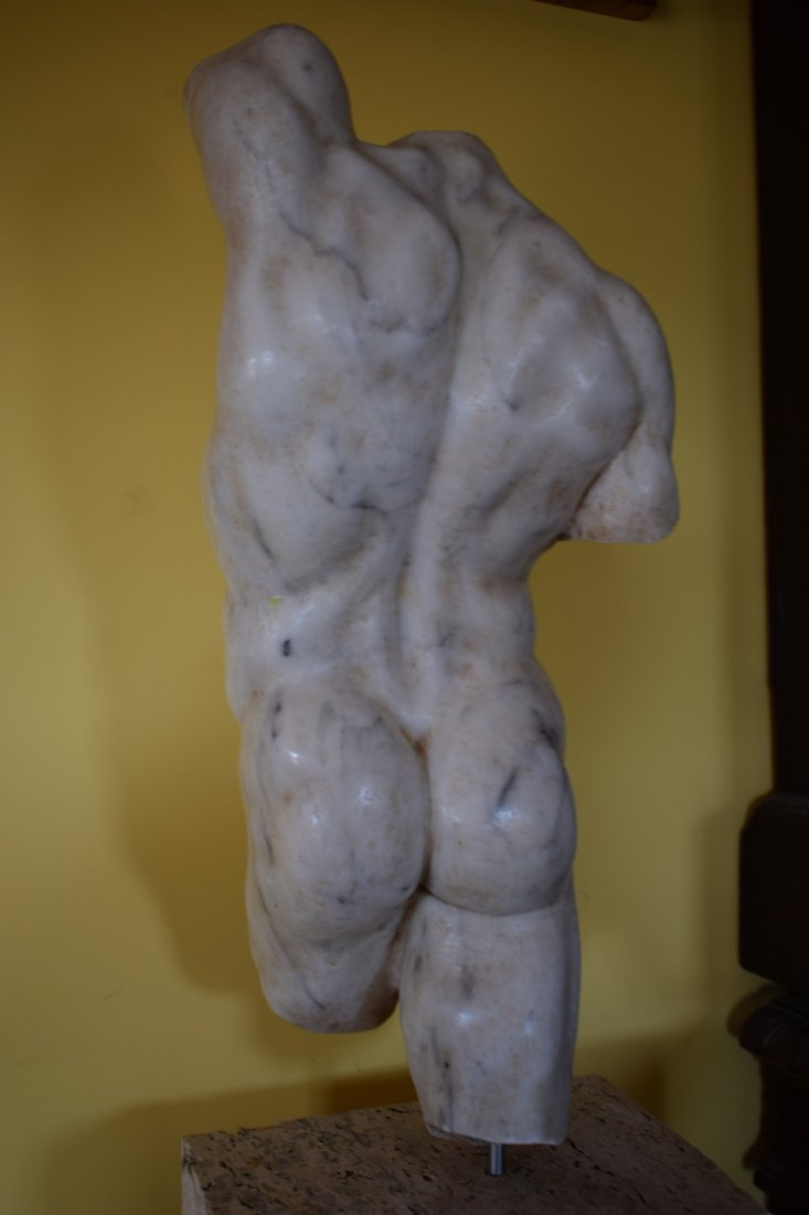 Torso in marble - 9