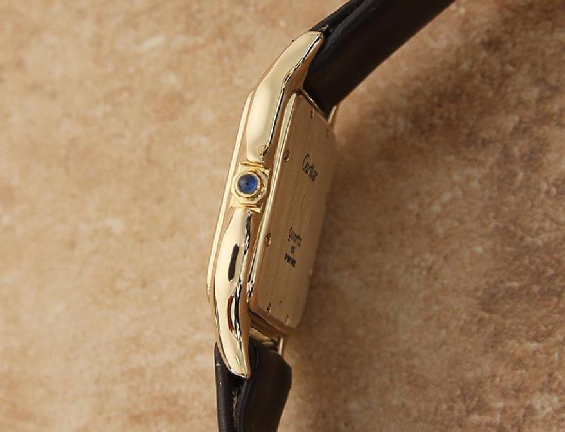 Cartier 18K Gold Panthere Unisex 28mm 1990s Luxury - 4