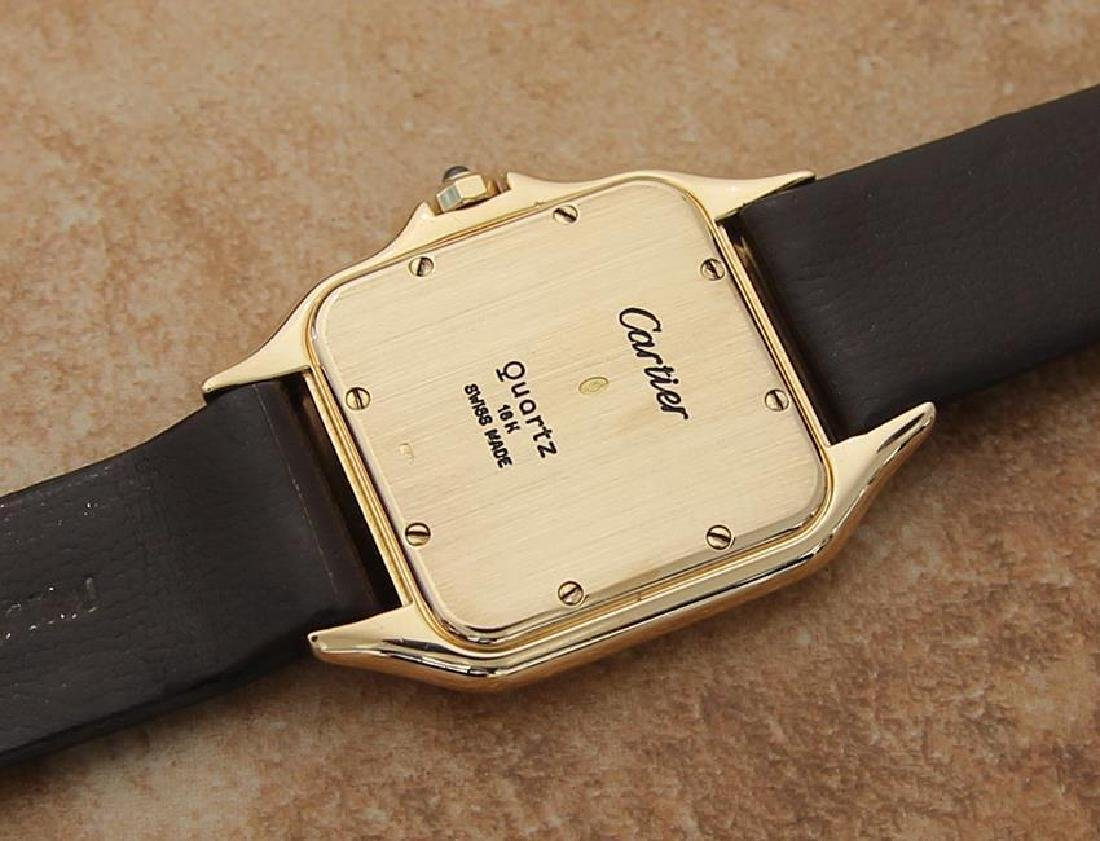 Cartier 18K Gold Panthere Unisex 28mm 1990s Luxury - 7