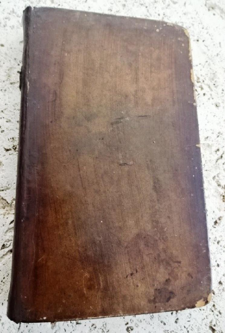1838 Leather Binding Home As Found