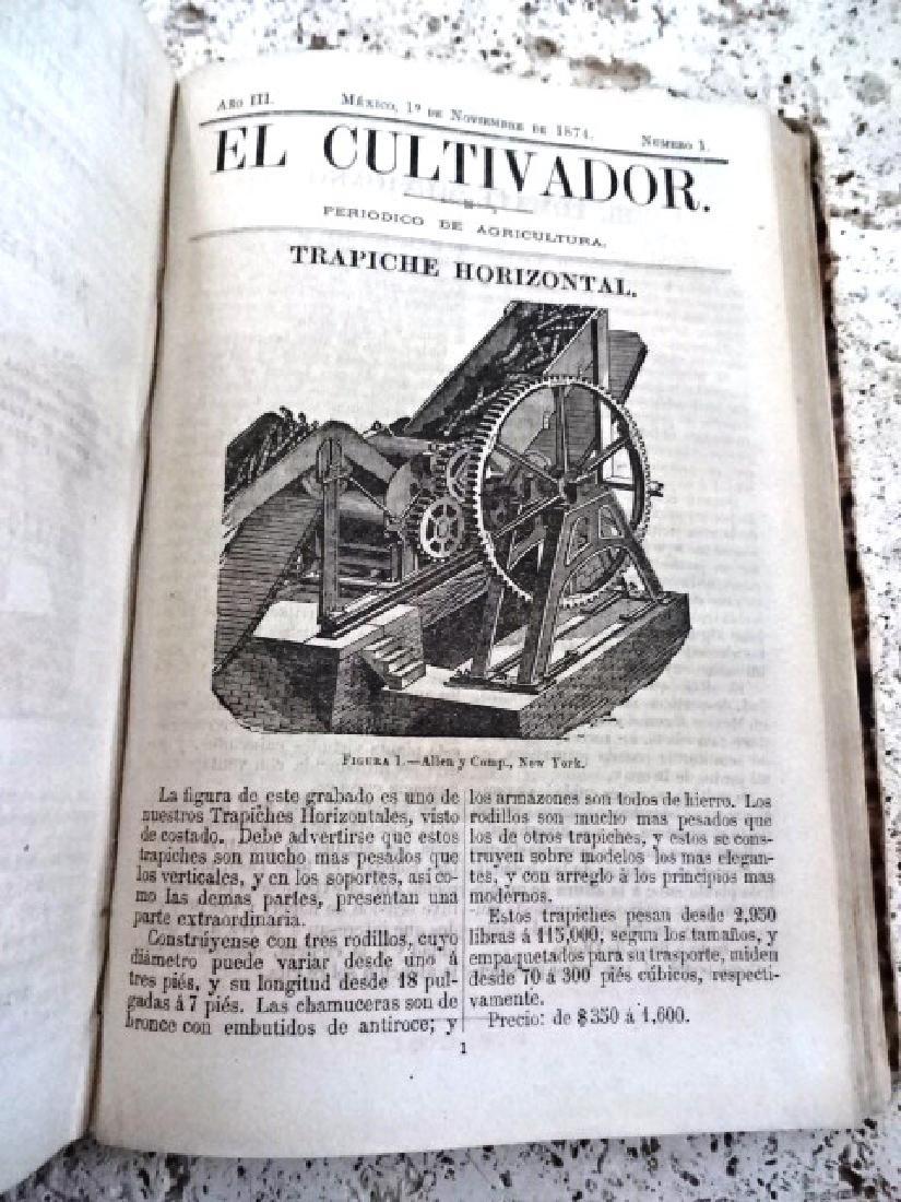 1873 El Cultivador. Publicacion Agricola - 3
