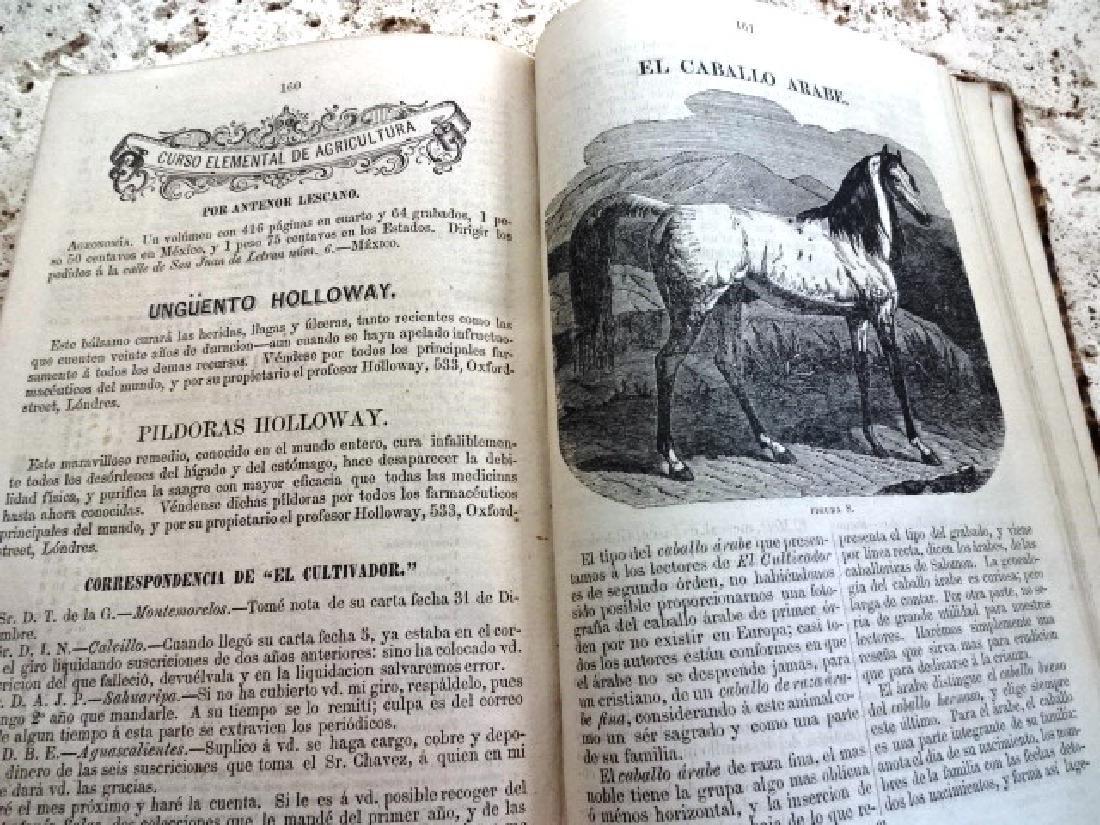 1873 El Cultivador. Publicacion Agricola - 4