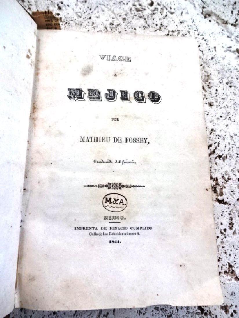1844 Fossey Viage A Mejico