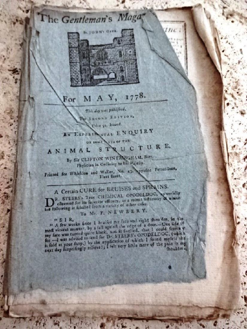 1778 Magazine Original Wrappers Revolutionary War