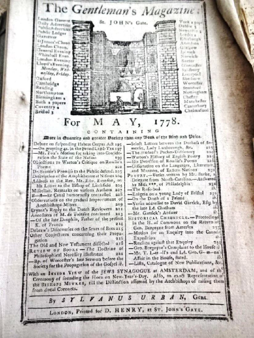 1778 Magazine Original Wrappers Revolutionary War - 2