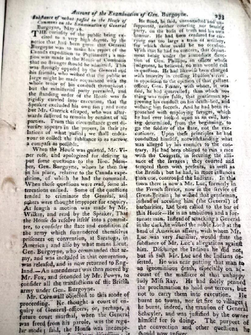 1778 Magazine Original Wrappers Revolutionary War - 3