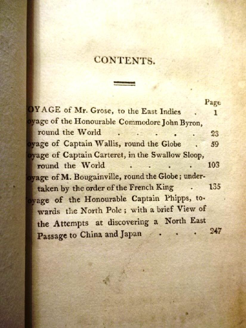 1817 Volume Voyages to East Indies Byron Carteret