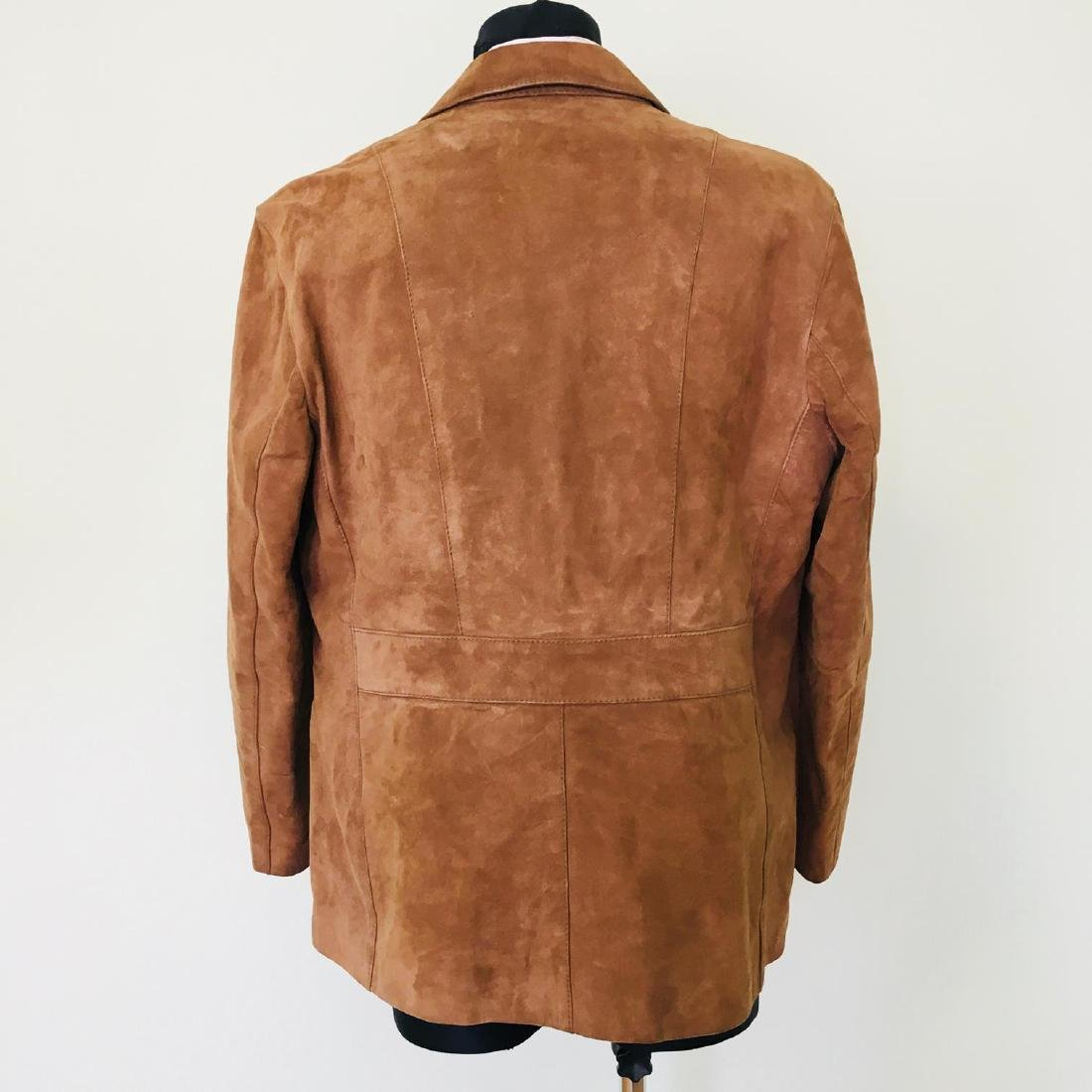 Vintage Men's Canda Designer Genuine Leather Jacket - 5
