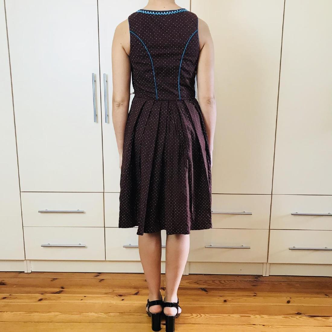 Vintage Women's Landhaus Country Drindl Tyrolean Dress - 5
