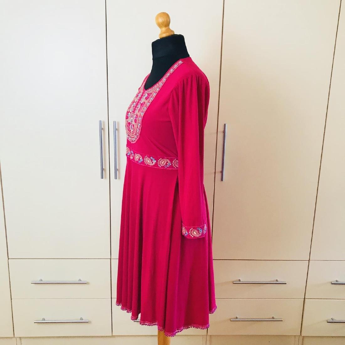 Vintage Women's Custom Handmade Designer Dress Size EUR - 4