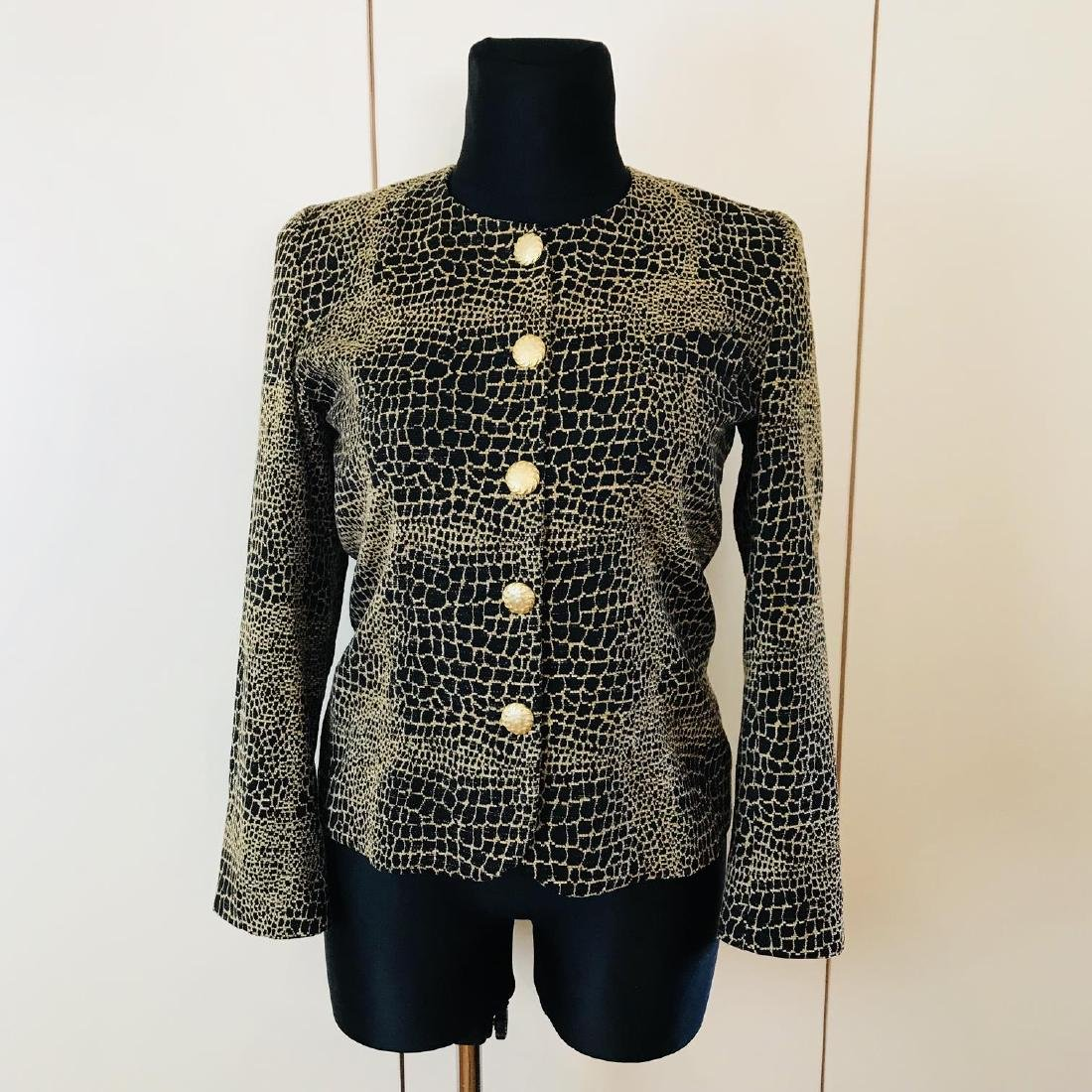 Vintage Women's Unknown French Designer Jacket Blazer