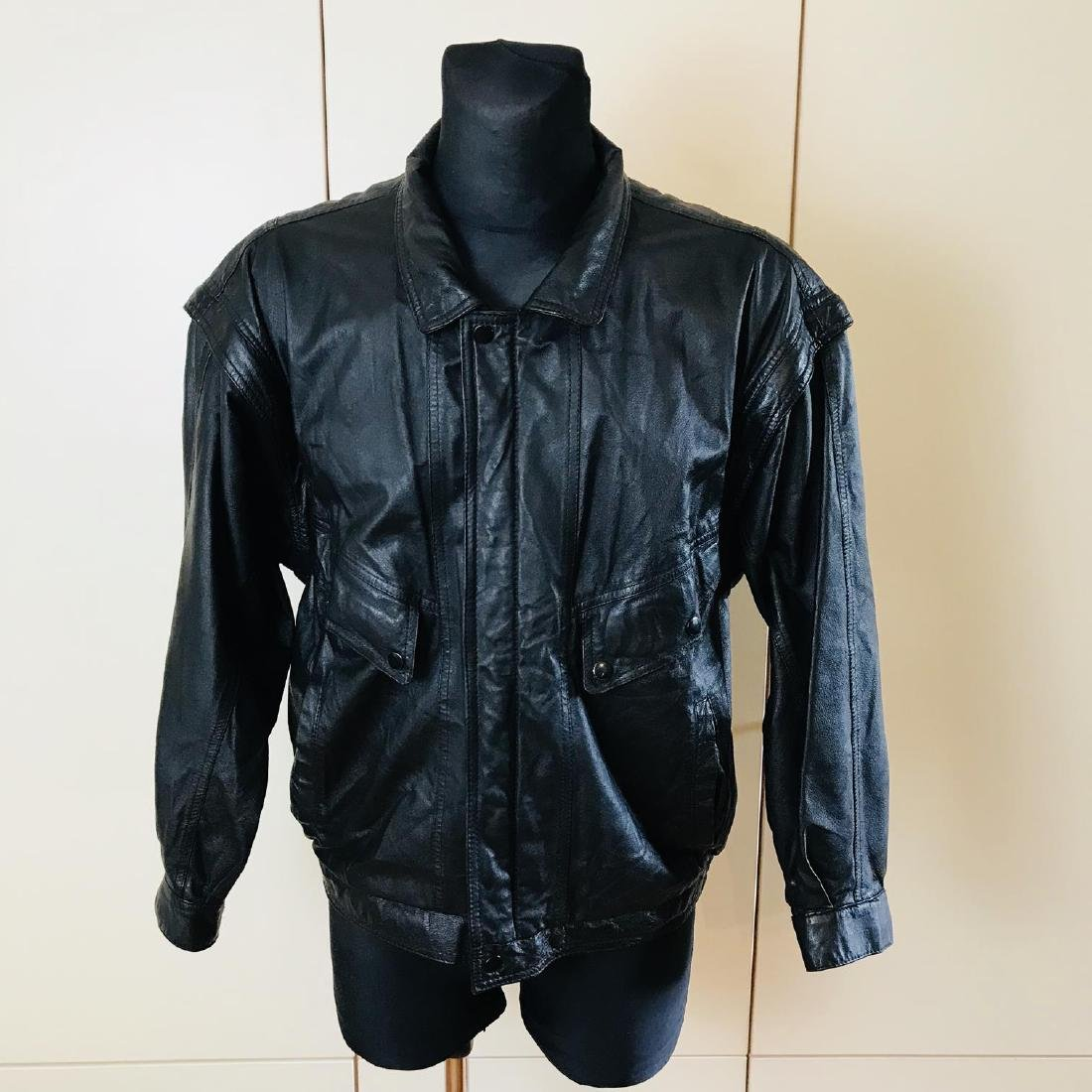 Vintage Men's Boecker Leather Jacket Size US 42