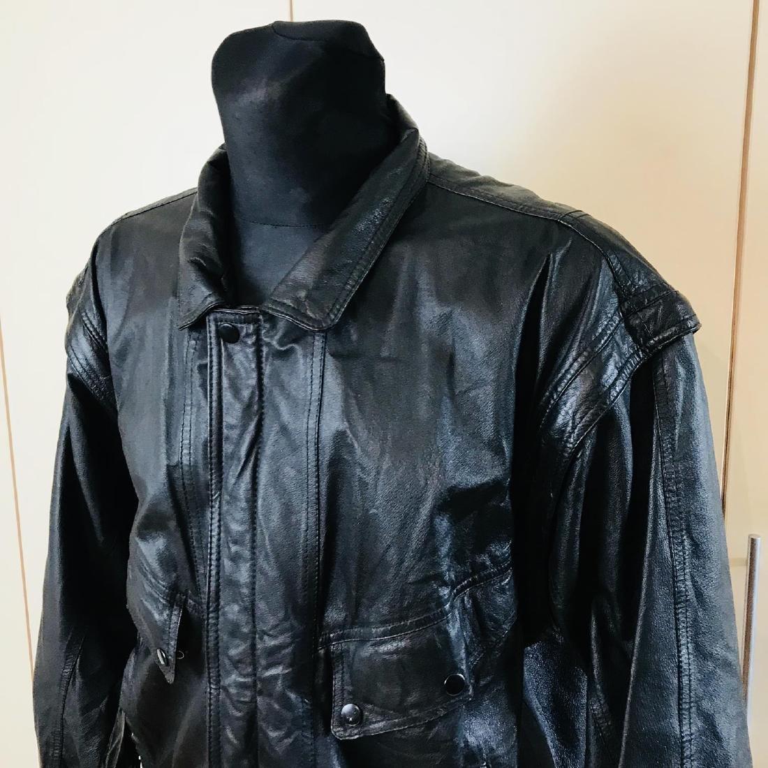 Vintage Men's Boecker Leather Jacket Size US 42 - 2