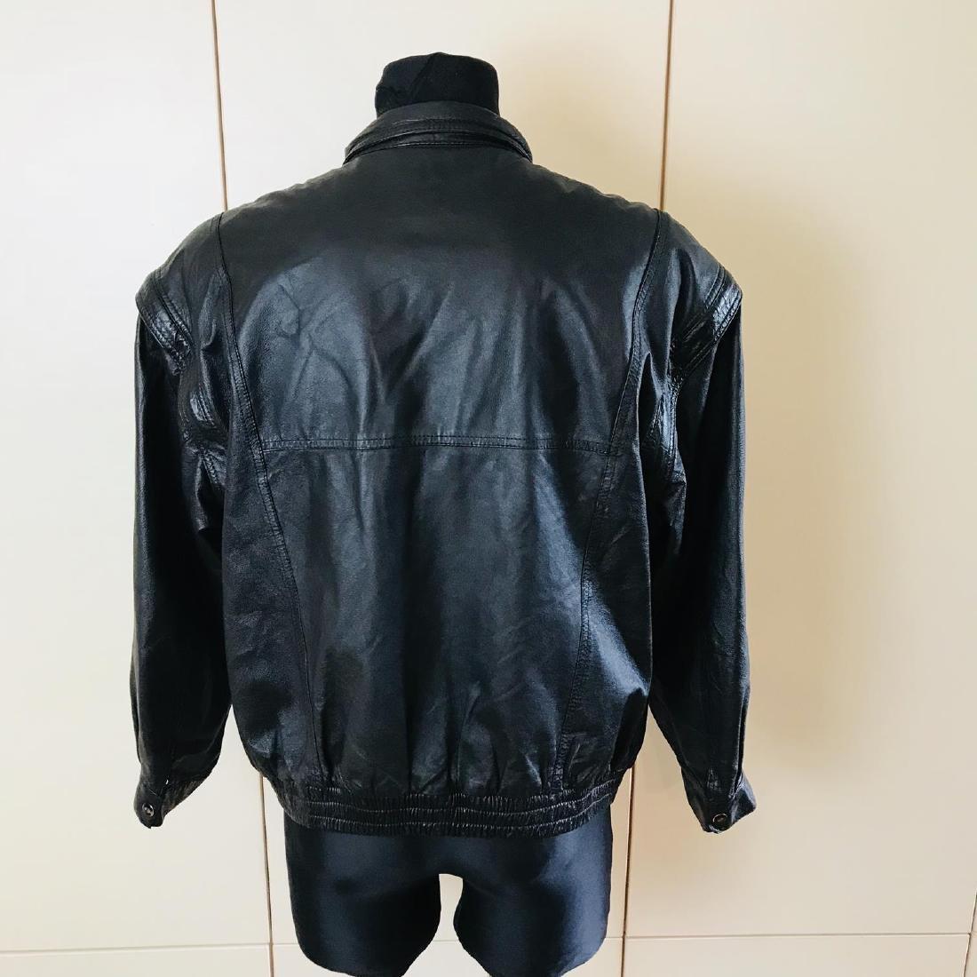 Vintage Men's Boecker Leather Jacket Size US 42 - 5