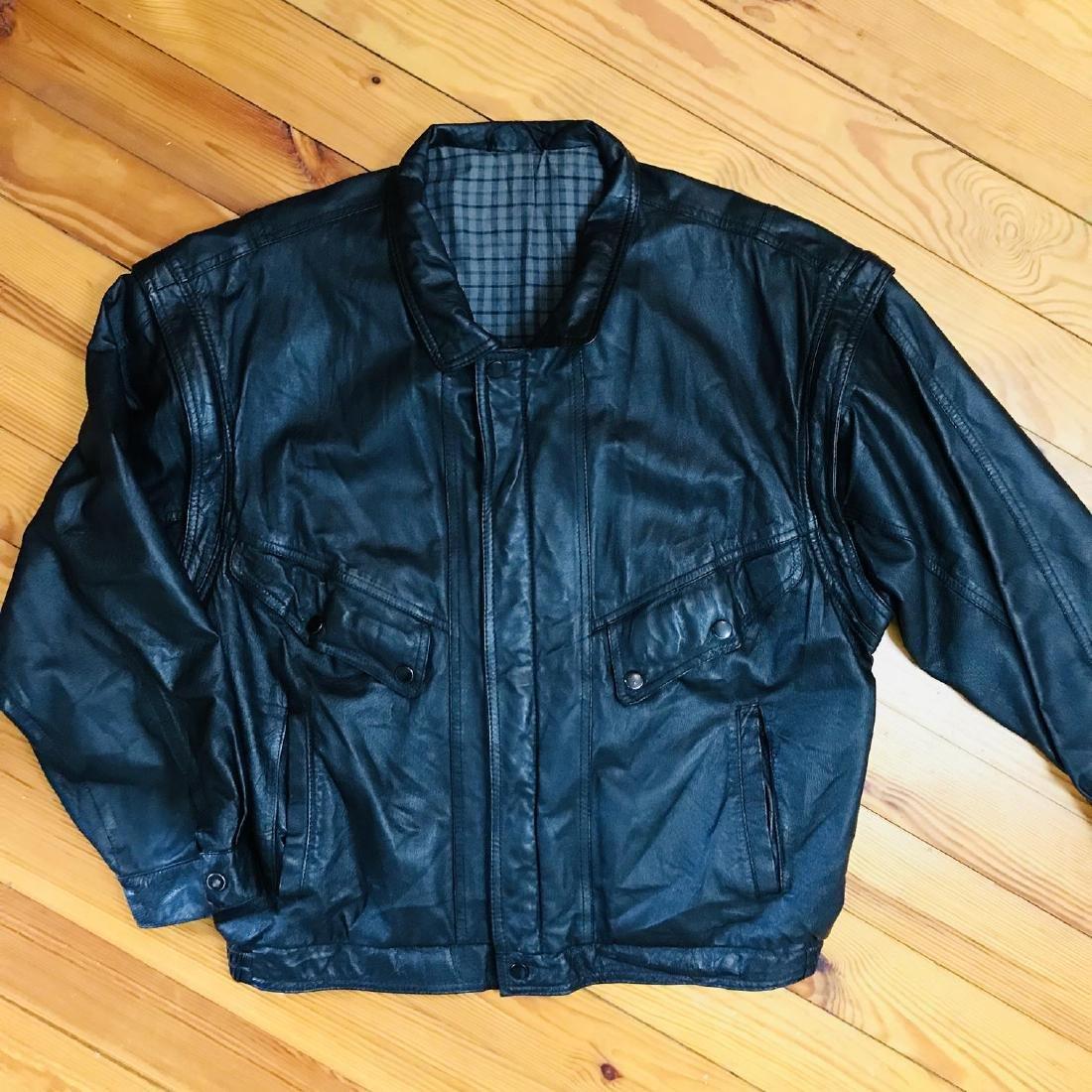 Vintage Men's Boecker Leather Jacket Size US 42 - 6