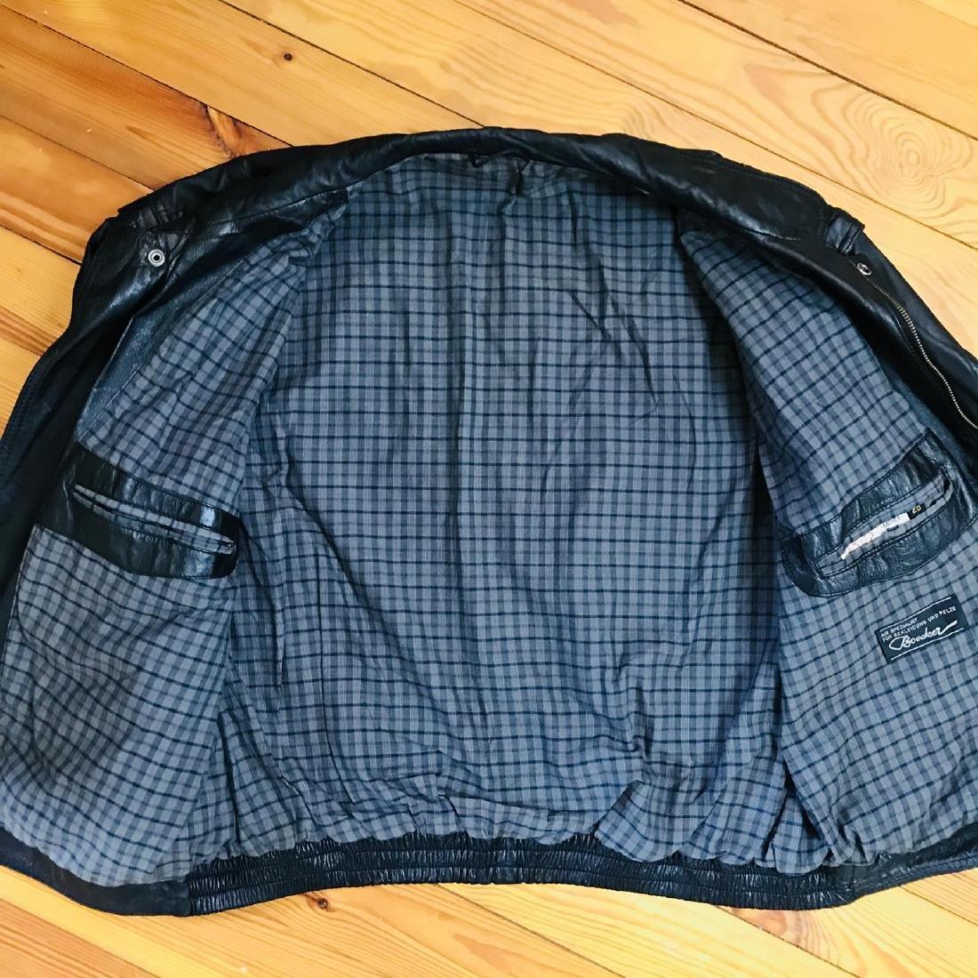 Vintage Men's Boecker Leather Jacket Size US 42 - 7