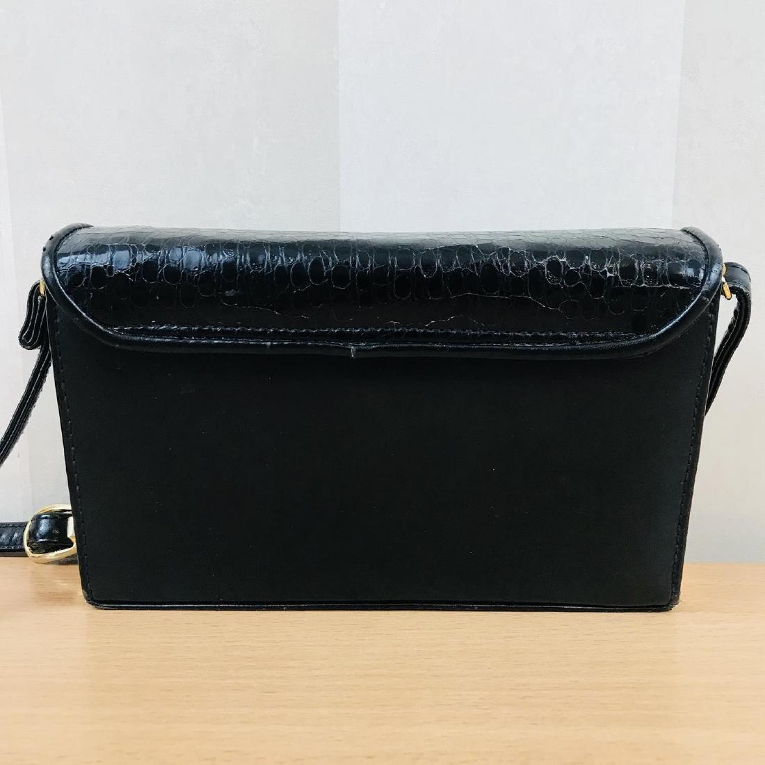 Vintage Handmade Genuine Snake Skin Leather Clutch Bag - 7