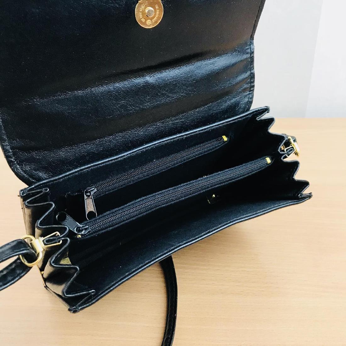 Vintage Handmade Genuine Snake Skin Leather Clutch Bag - 8