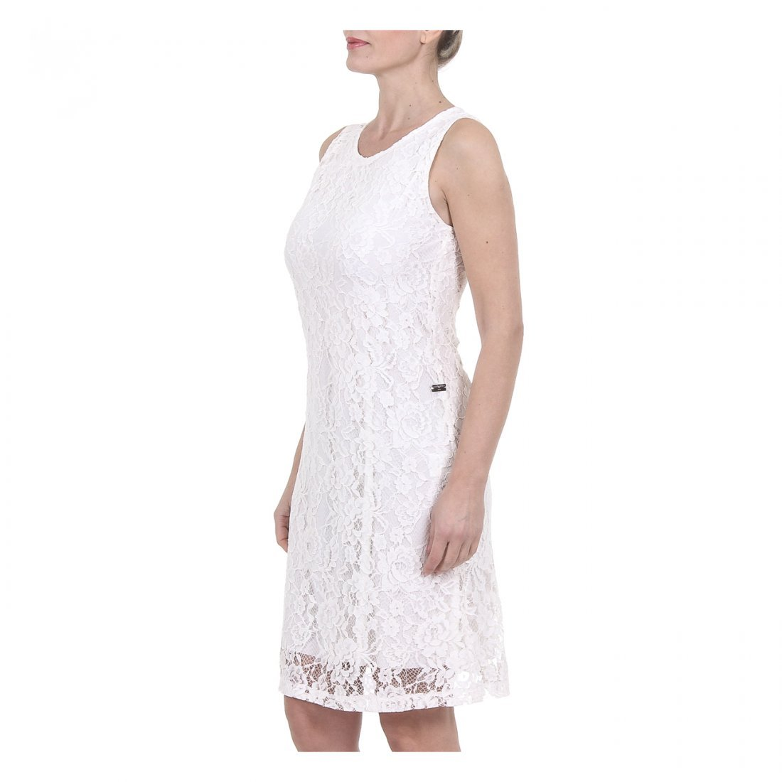 Ladies VERSACE 1969 White Summer Dress - 2