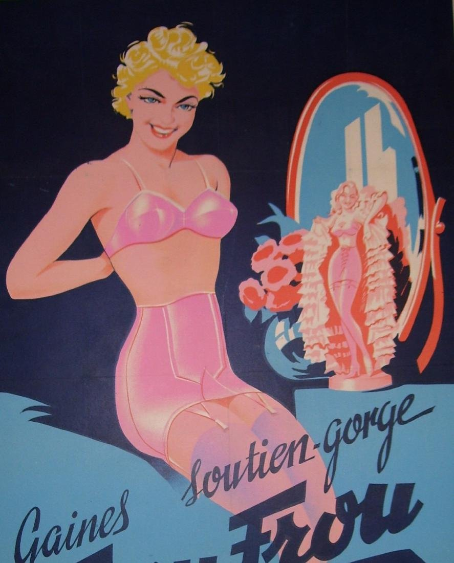 Frou Frou Vintage French Poster - 2