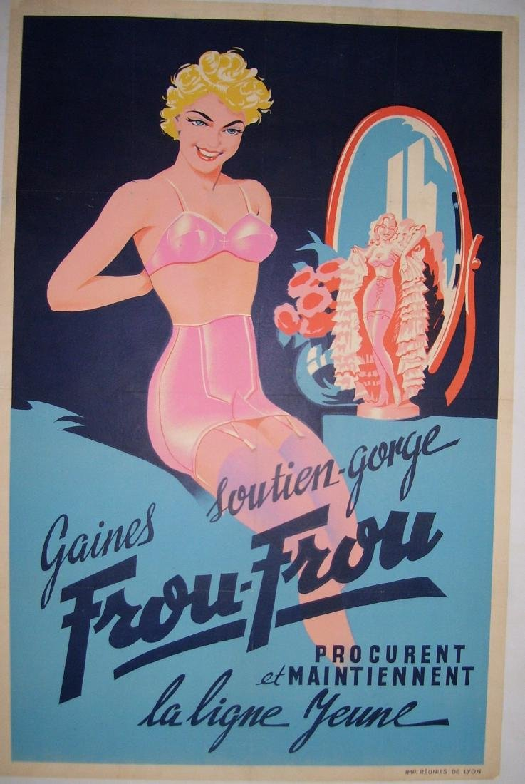 Frou Frou Vintage French Poster - 3