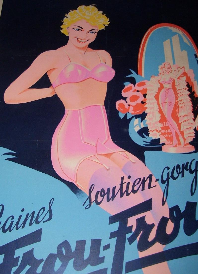 Frou Frou Vintage French Poster - 5