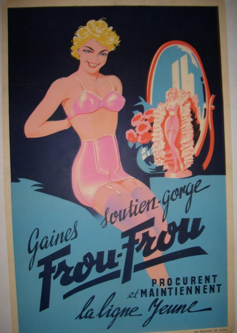 Frou Frou Vintage French Poster - 6