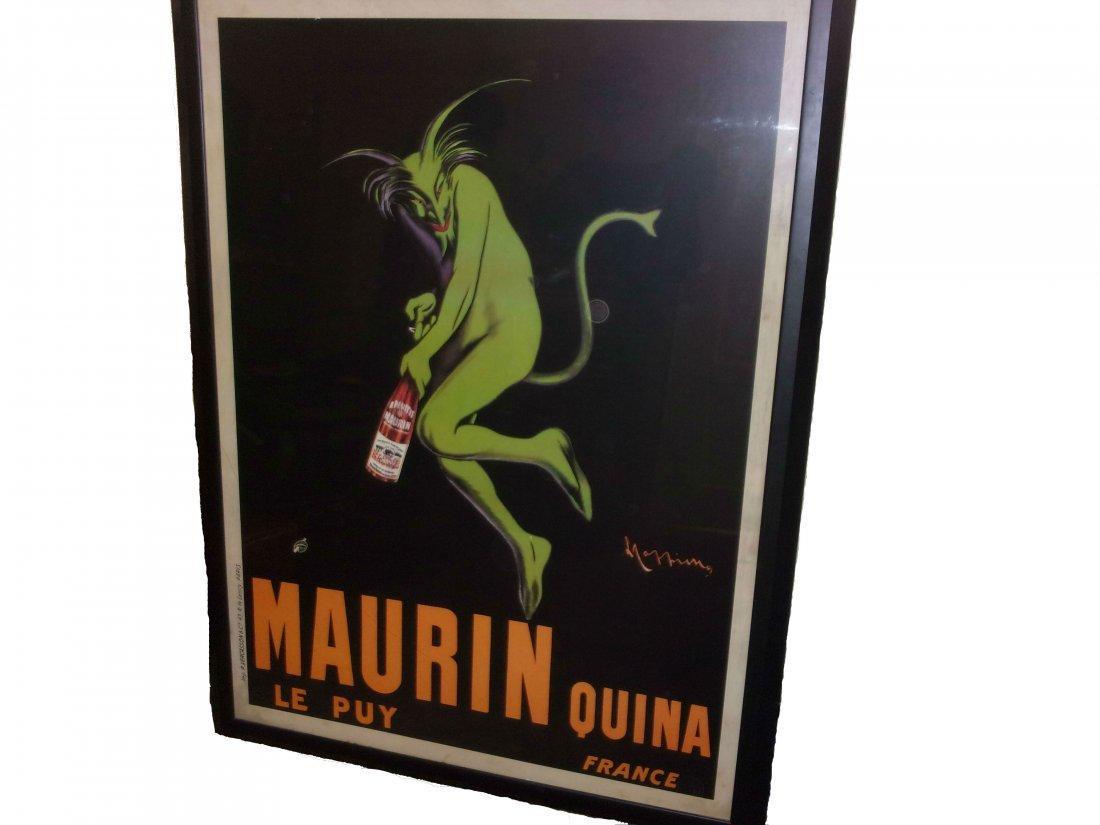 Leonetto Cappiello Lithograph Poster Backed on Linen