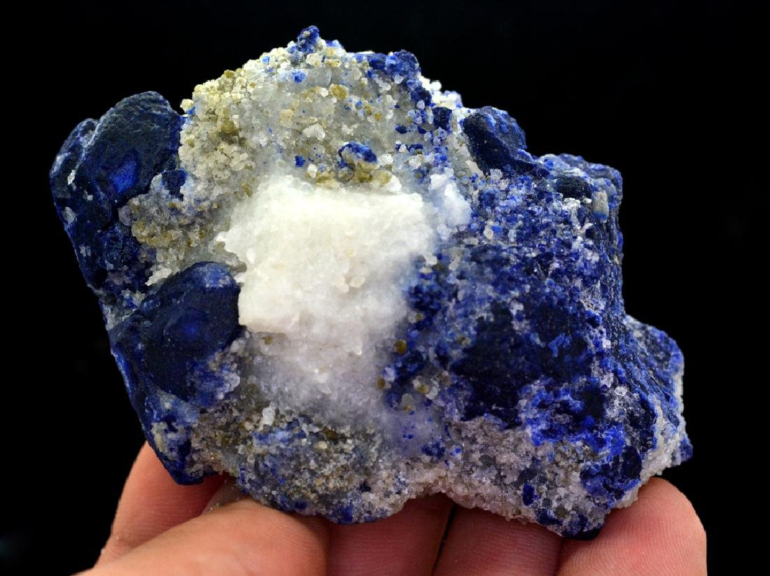 126 Gram Royal Blue Lazurite Specimen - 2
