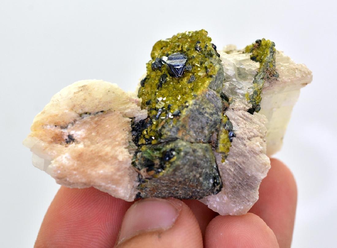 80 Gram Perfect Magnetite With Epidote & Calcite - 2