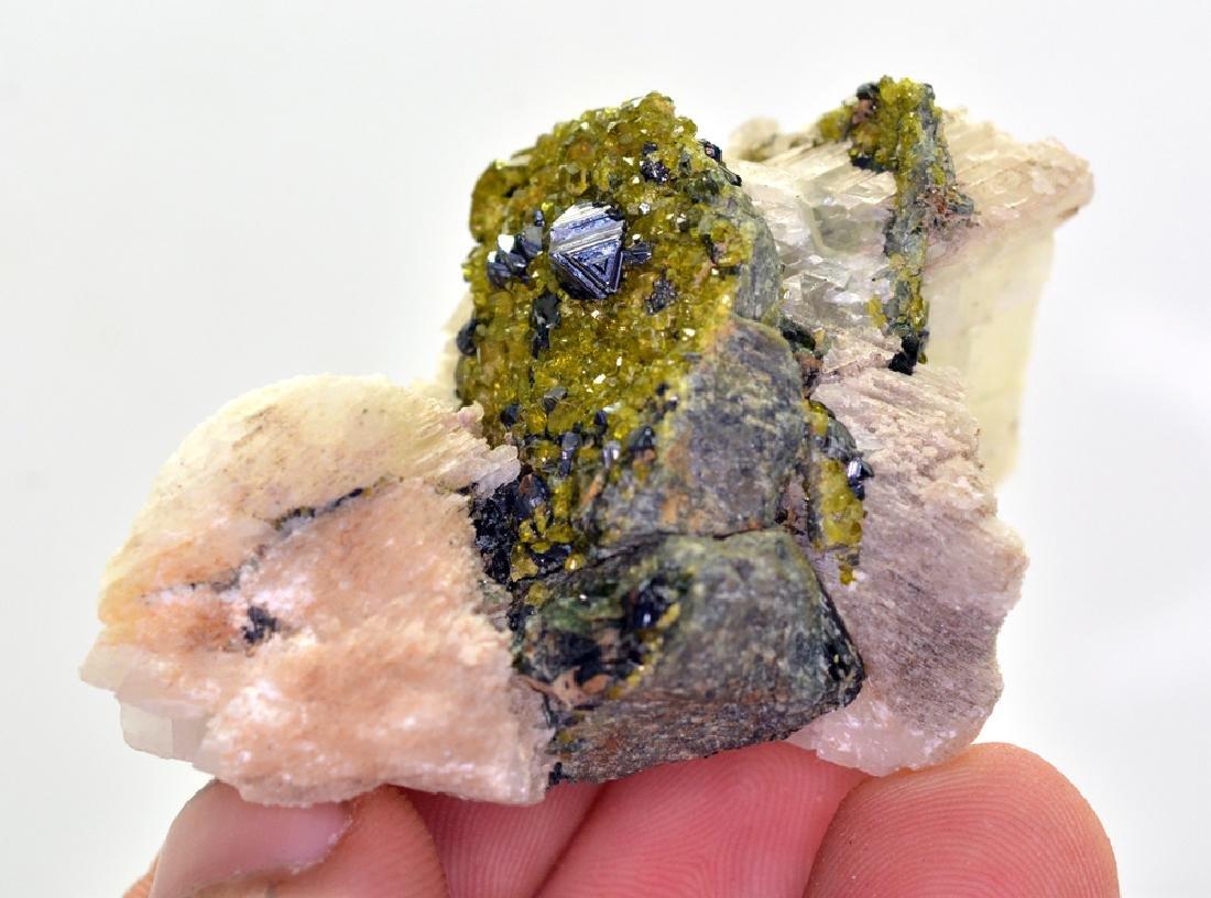 80 Gram Perfect Magnetite With Epidote & Calcite - 3