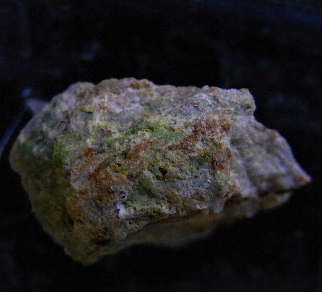 RARE SPECIMEN -  GREEN CUPROTUNGSTITE - 2