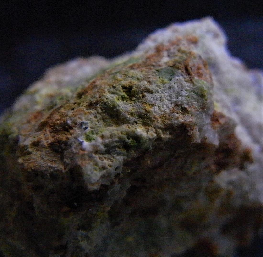 RARE SPECIMEN -  GREEN CUPROTUNGSTITE - 3