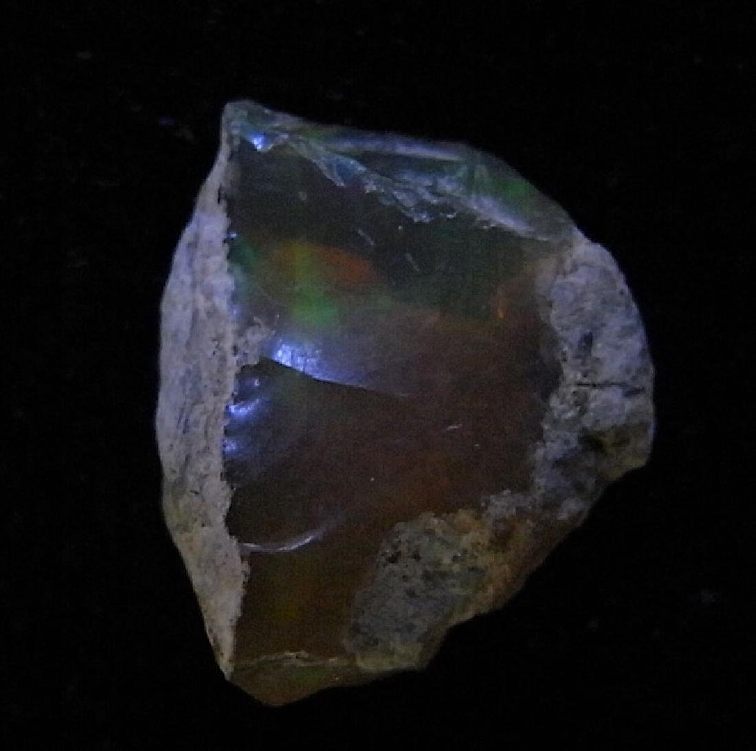 PRECIOUS FIRE OPAL WITH VERY GOOD PLAY-OF-COLOR - 5