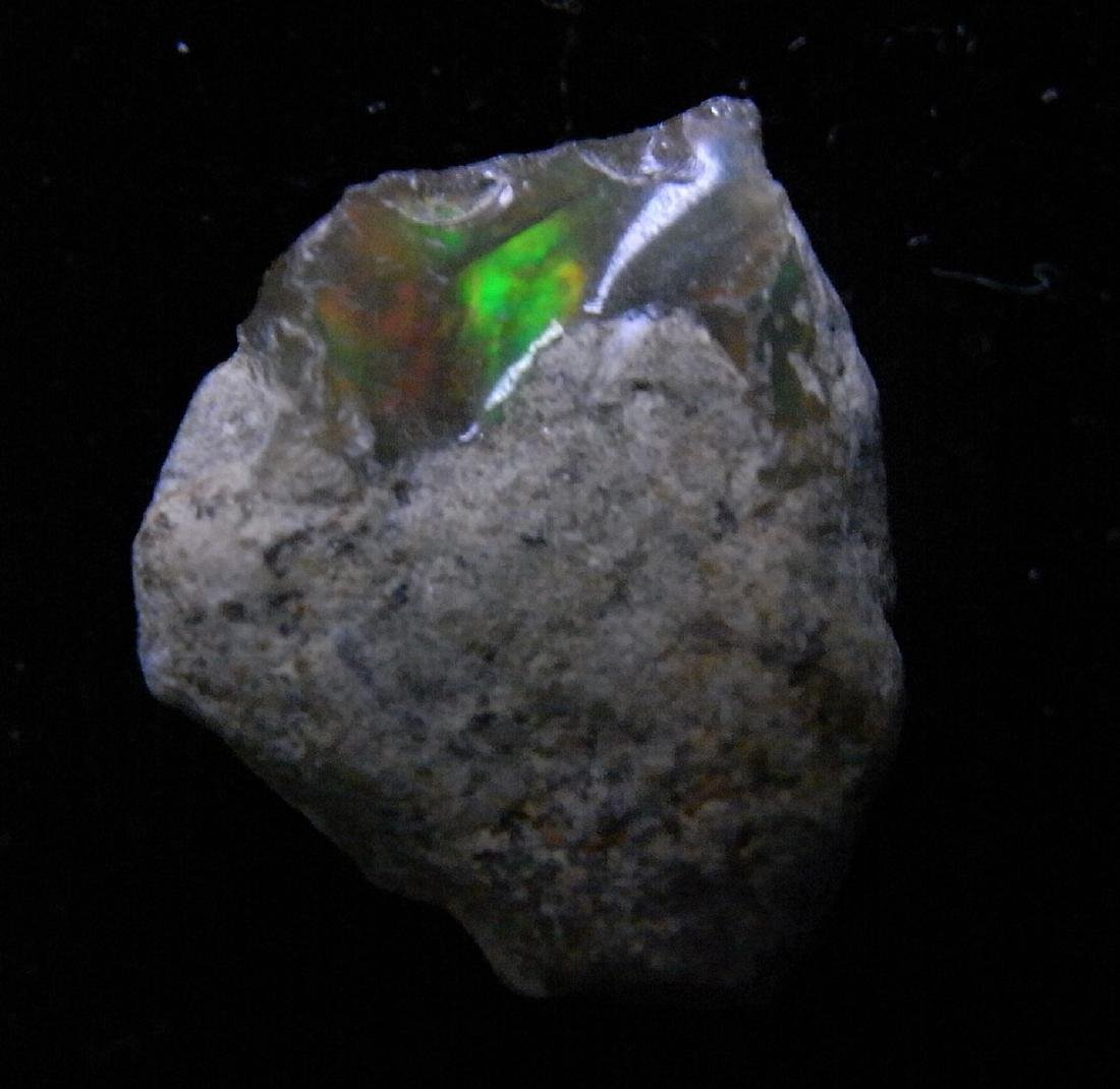 PRECIOUS FIRE OPAL WITH VERY GOOD PLAY-OF-COLOR - 6