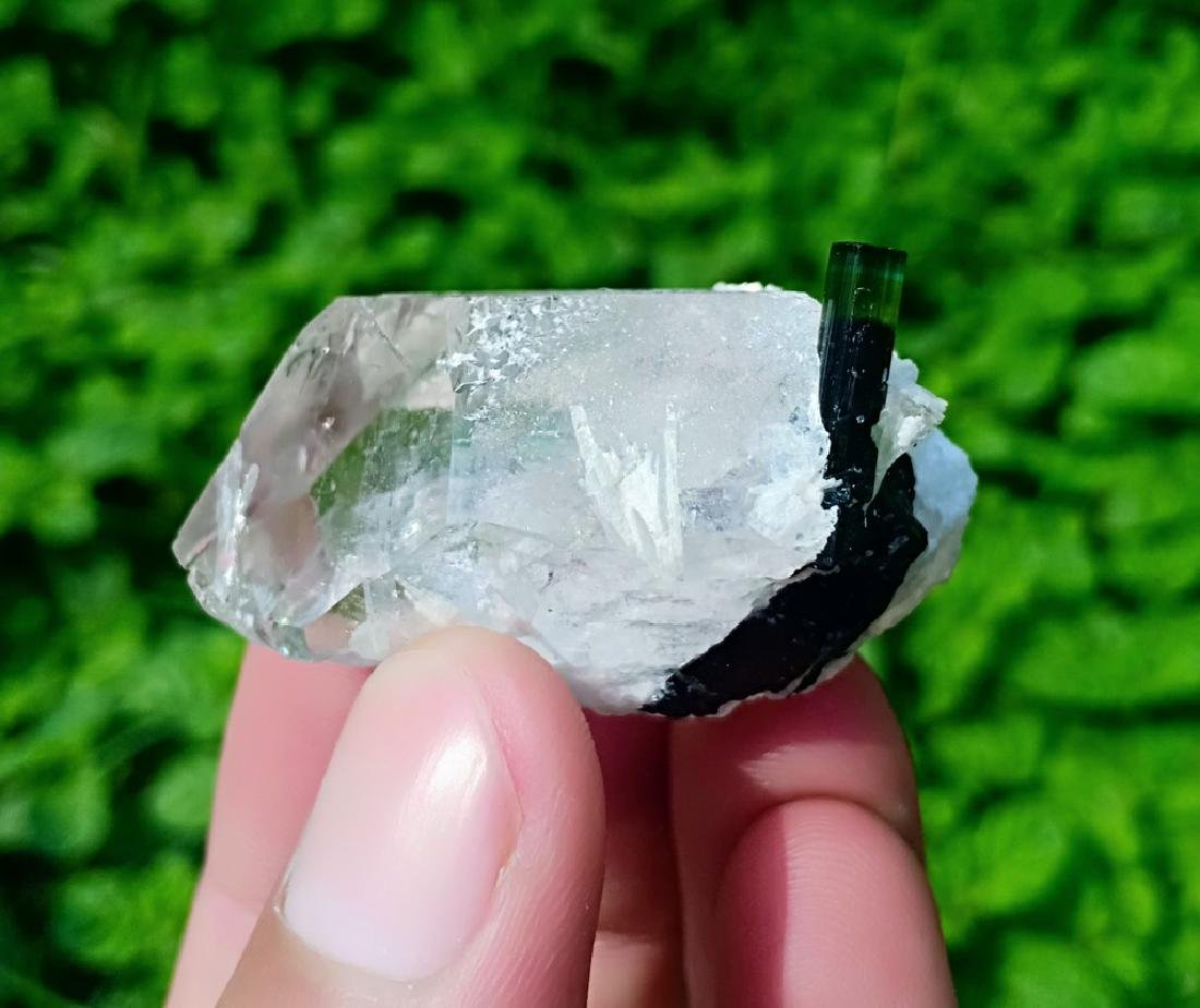 40 Gram Tourmaline With Quartz Specimen