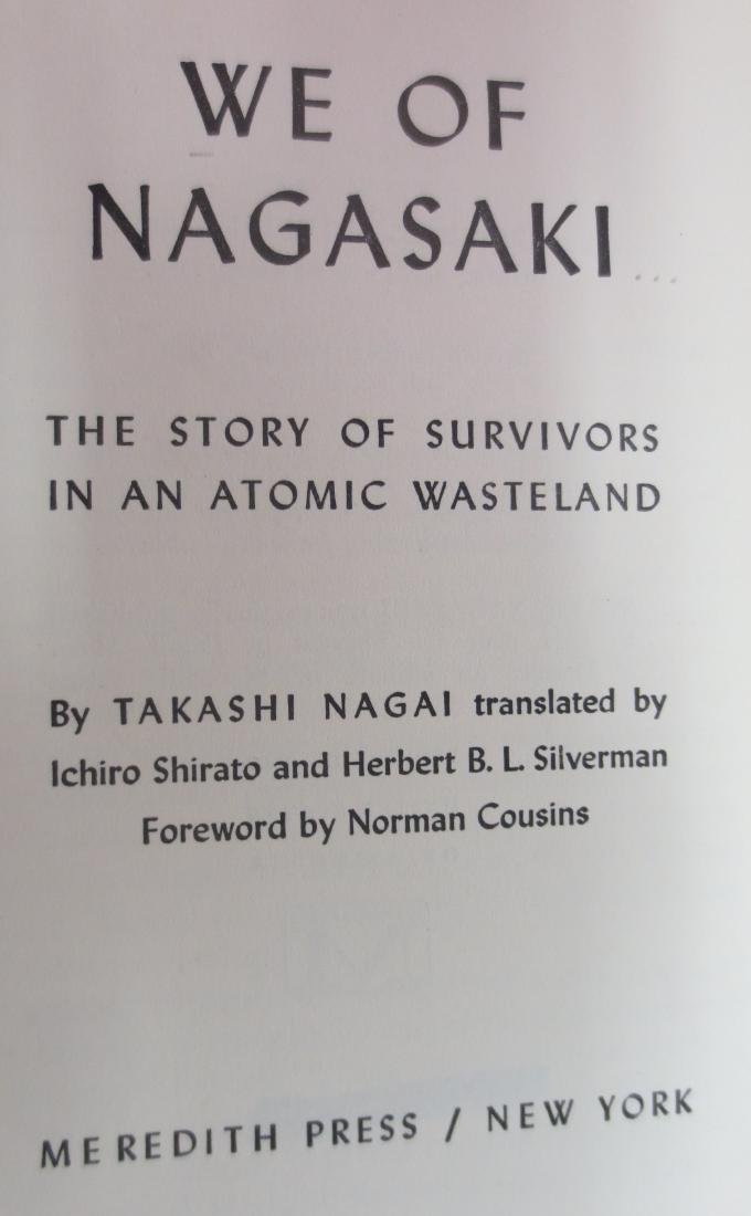 We of Nagasaki, Author: Takashi Nagai - 2