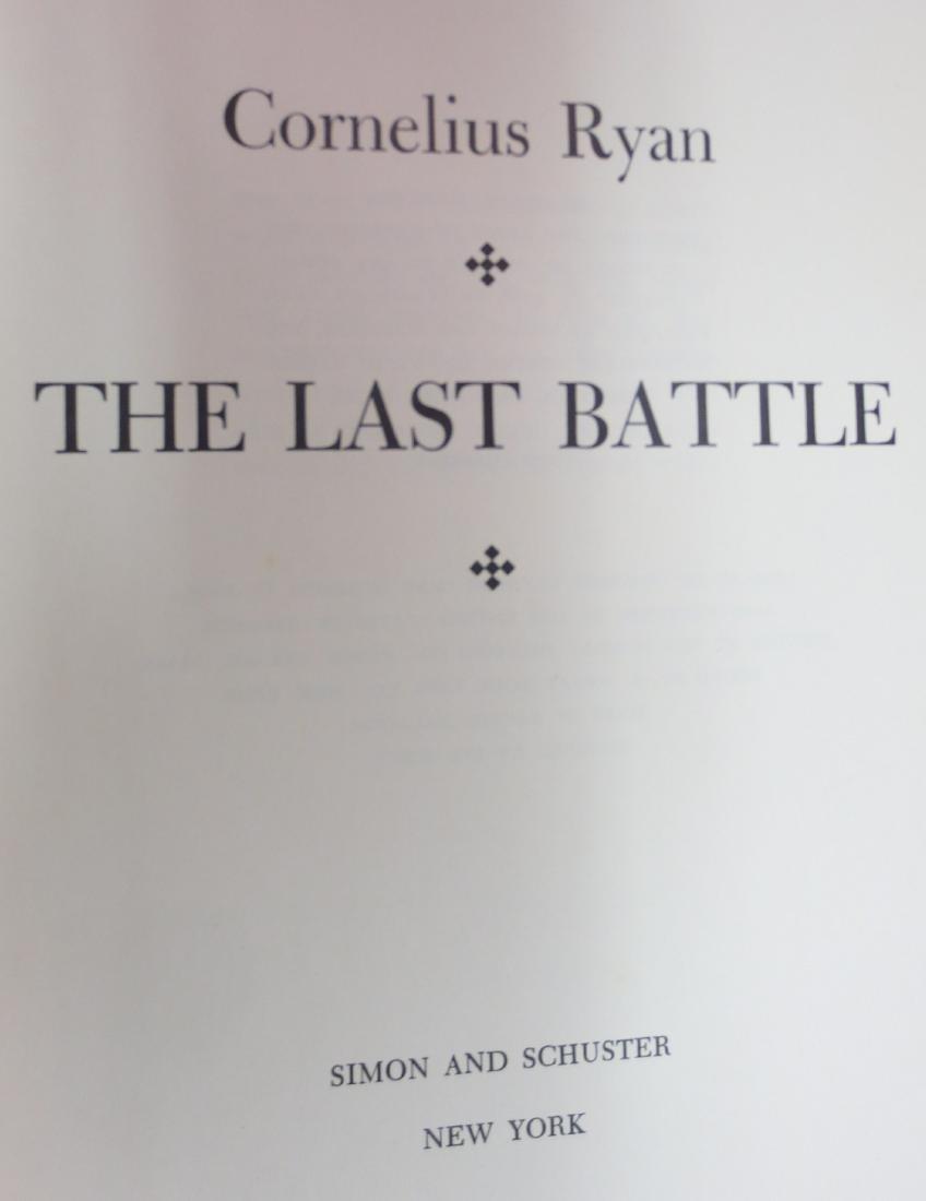 The Last Battle, Author: Cornelius Ryan - 2