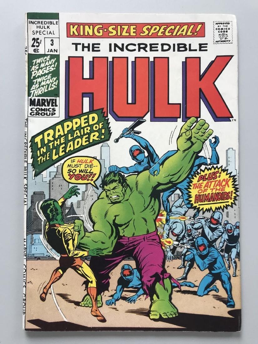 Incredible Hulk (1962-1999 1st Series) Annual #3 Stan
