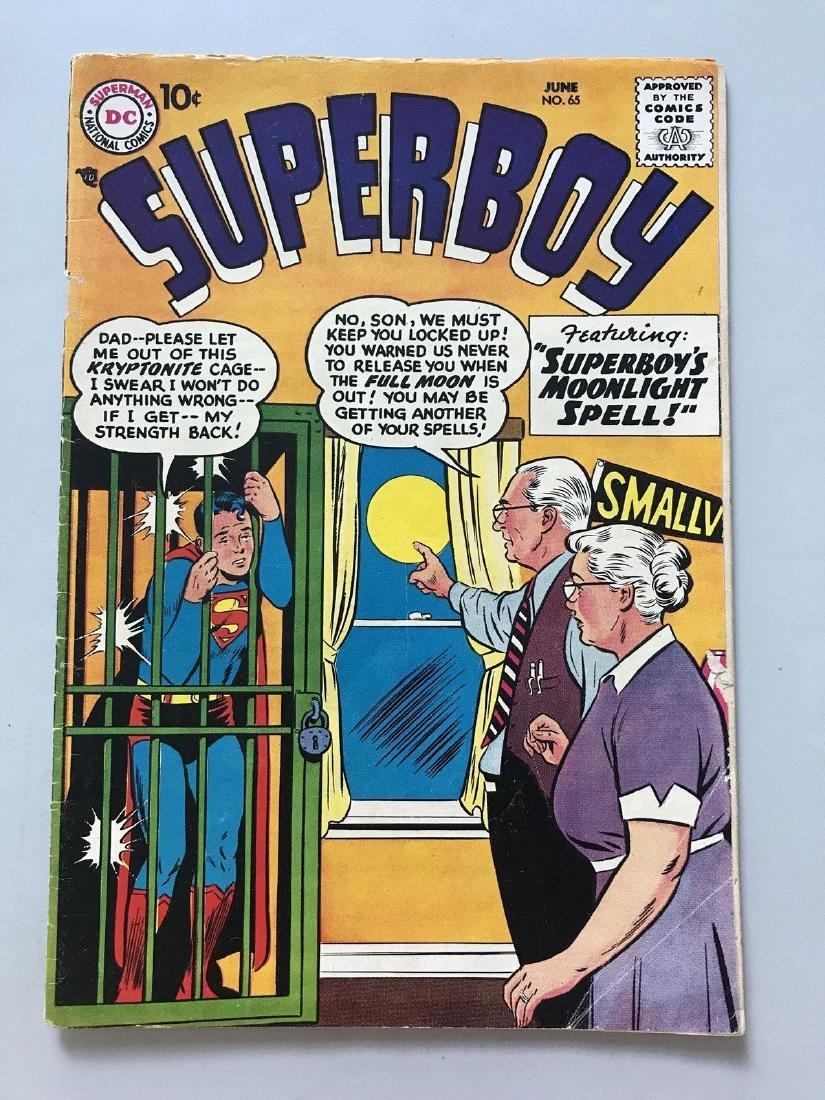 Superboy (1949-1979 1st Series DC) #65