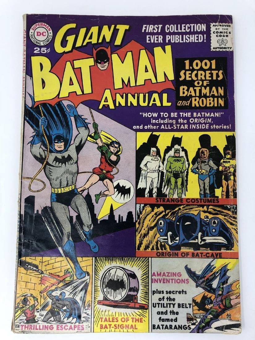 Batman (1940) Annual #1 Low Grade