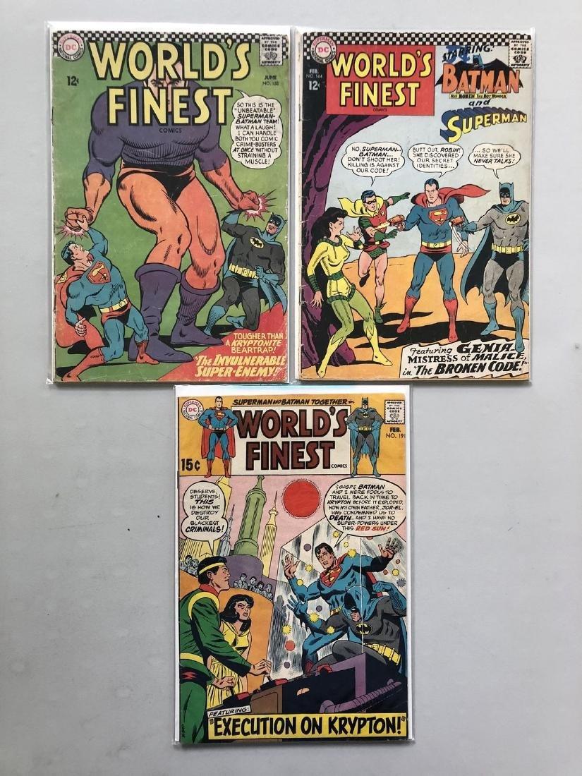 Lot of 3 World's Finest (1941) #158 164 191 Batman - 2