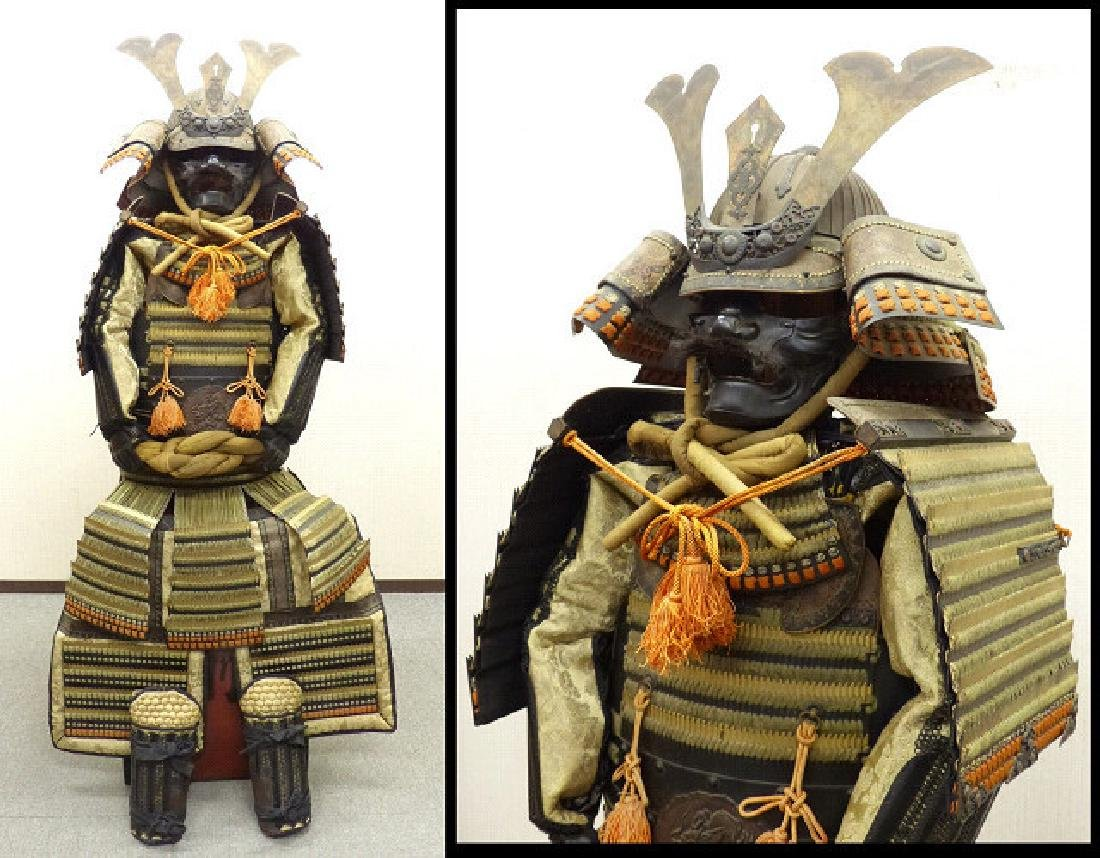 Japanese Samurai Dragons Yoroi