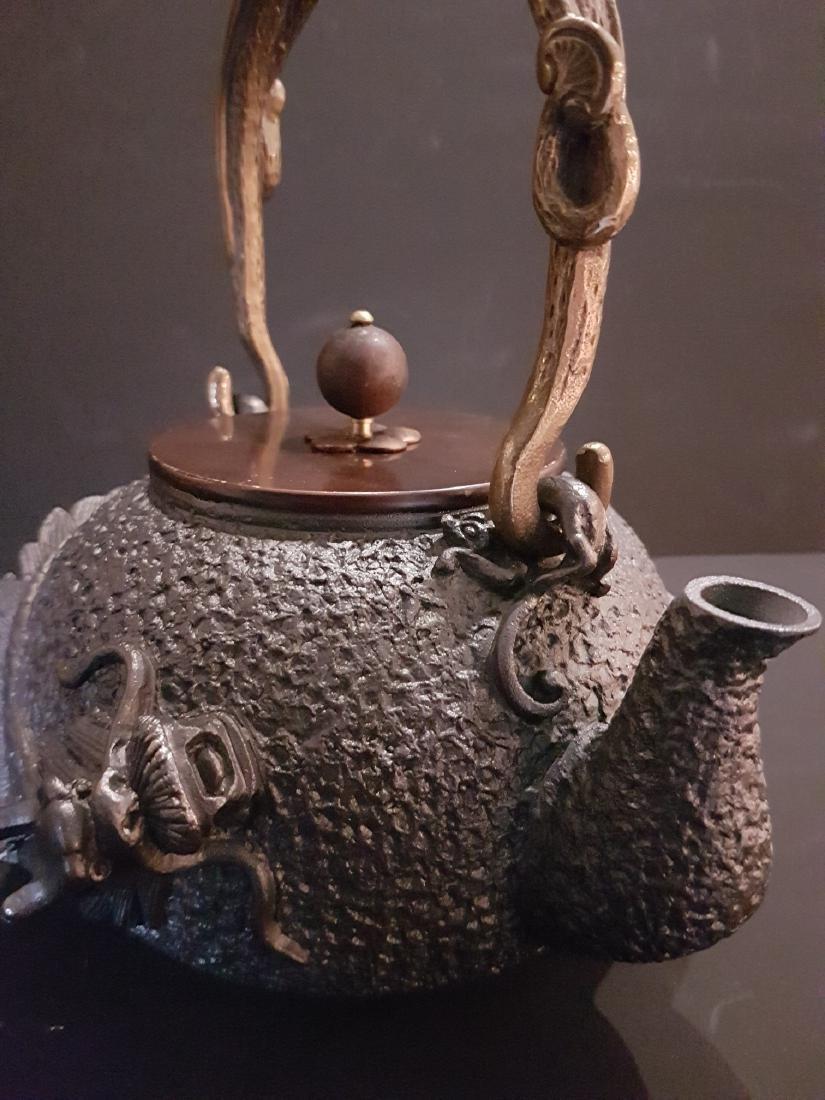 Original Japanese Tetsubin tea pot