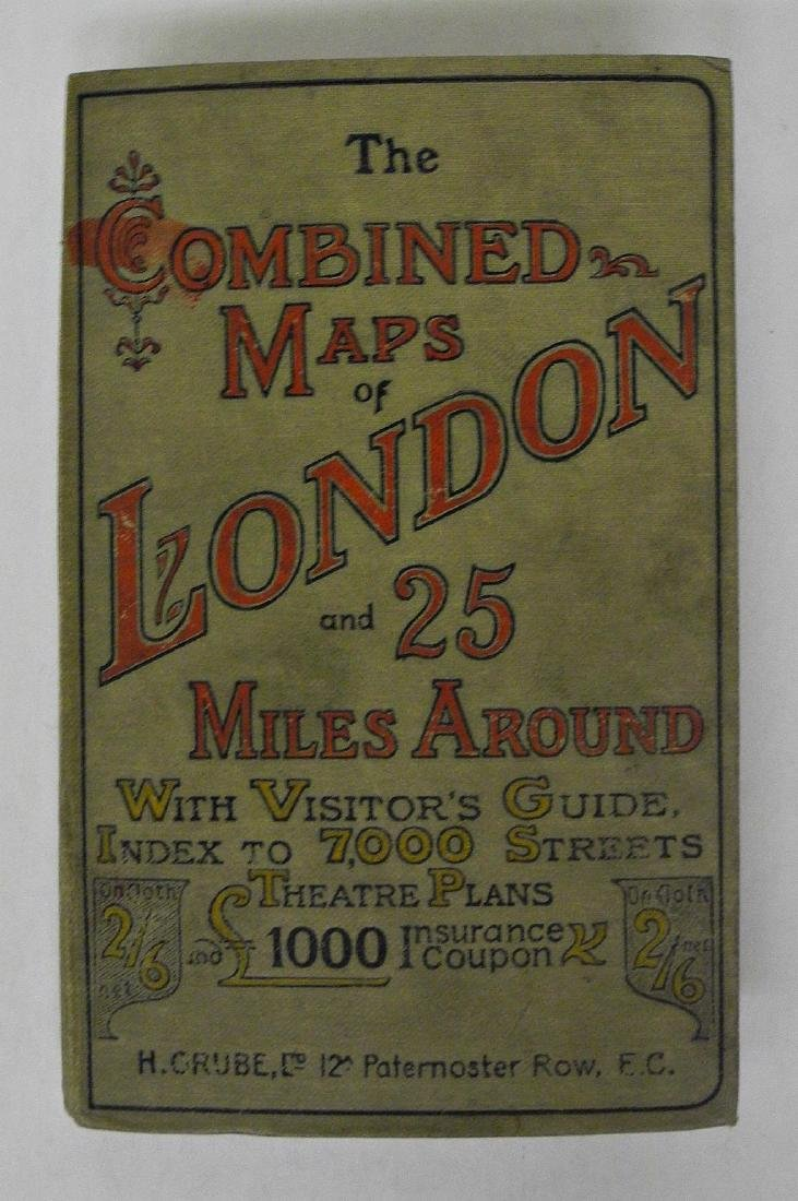 Combined Maps of London and 25 Miles Around