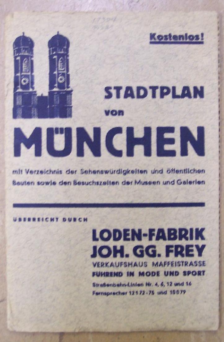 Stadtplan Von Munchen