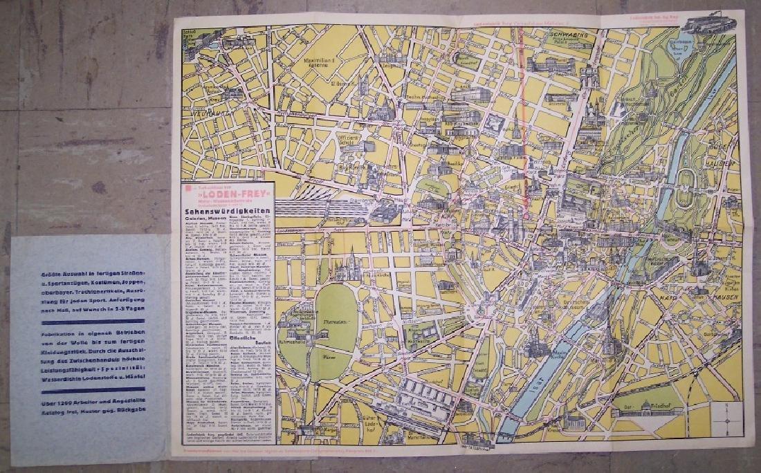 Stadtplan Von Munchen - 2